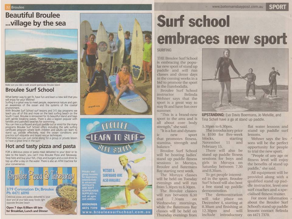 Surf school embraces new sport