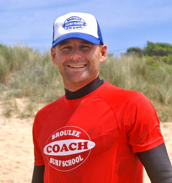 Shane Wehner head surf coach