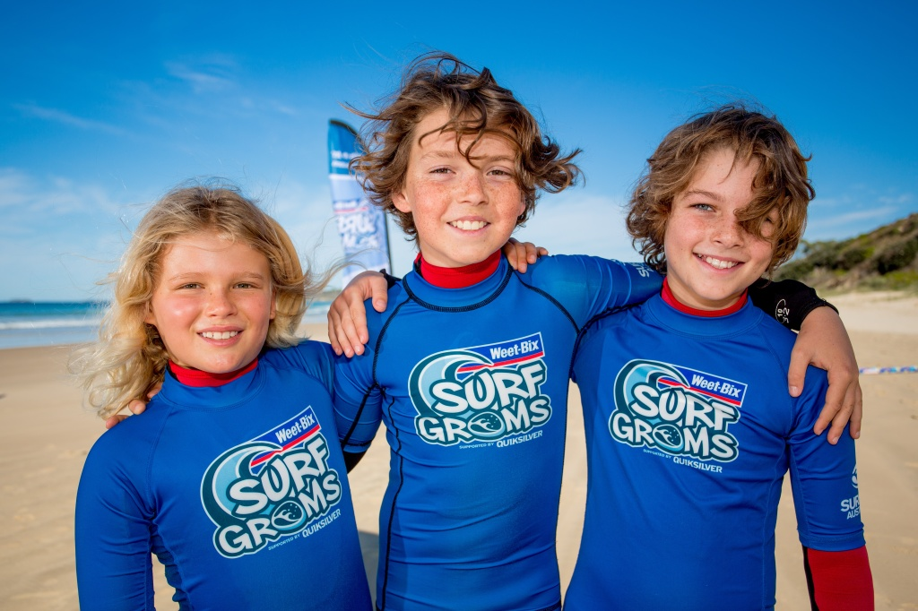 Make new friends and learn to surf