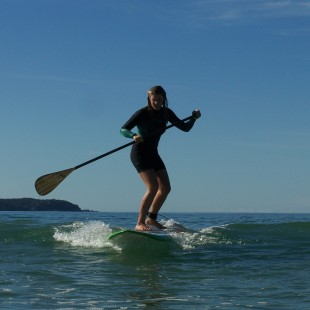 Girl Surf Stand Up Paddle