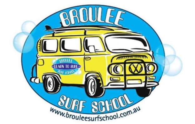 Broulee Surf School - History - The original logo