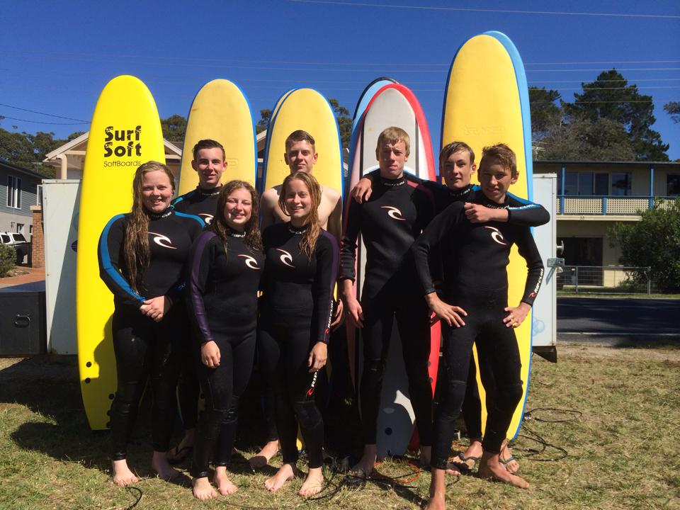 NSW South Coast surf school - Group Surfing Lessons