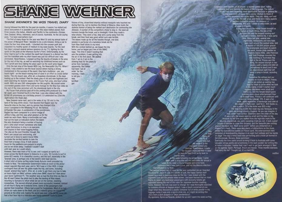 Shane Wehner tube