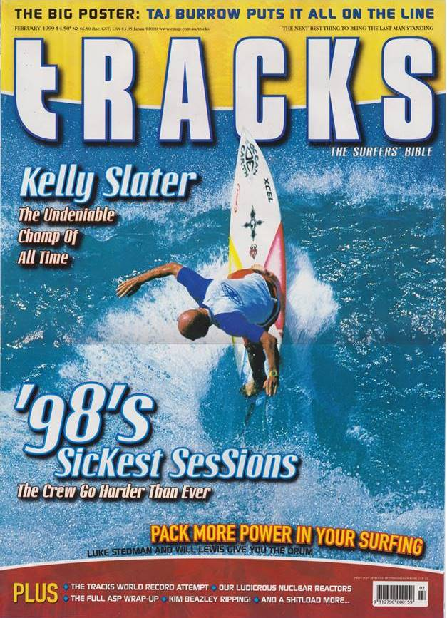 Tracks mag cover 1999