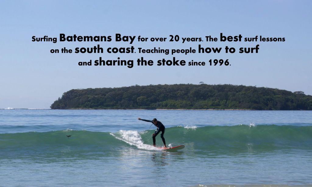 surfing batemans bay