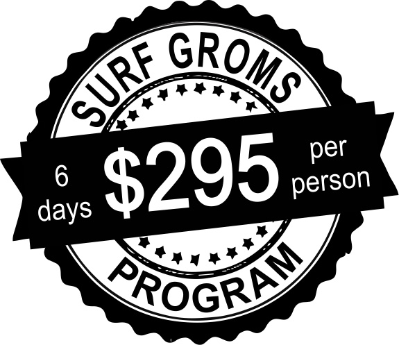 6 day surf groms price