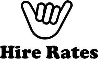 equipment hire rates