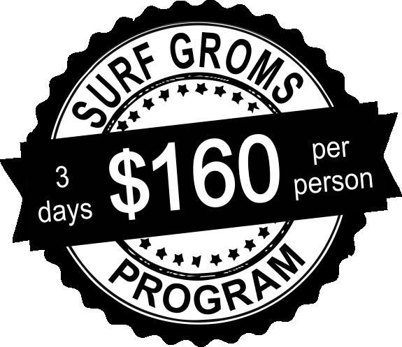 surf groms price