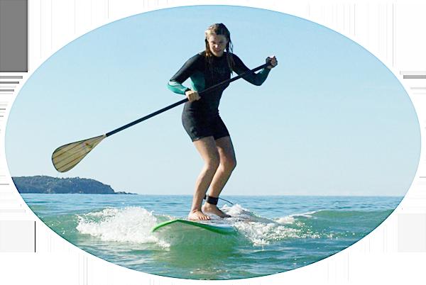surf sup lesson