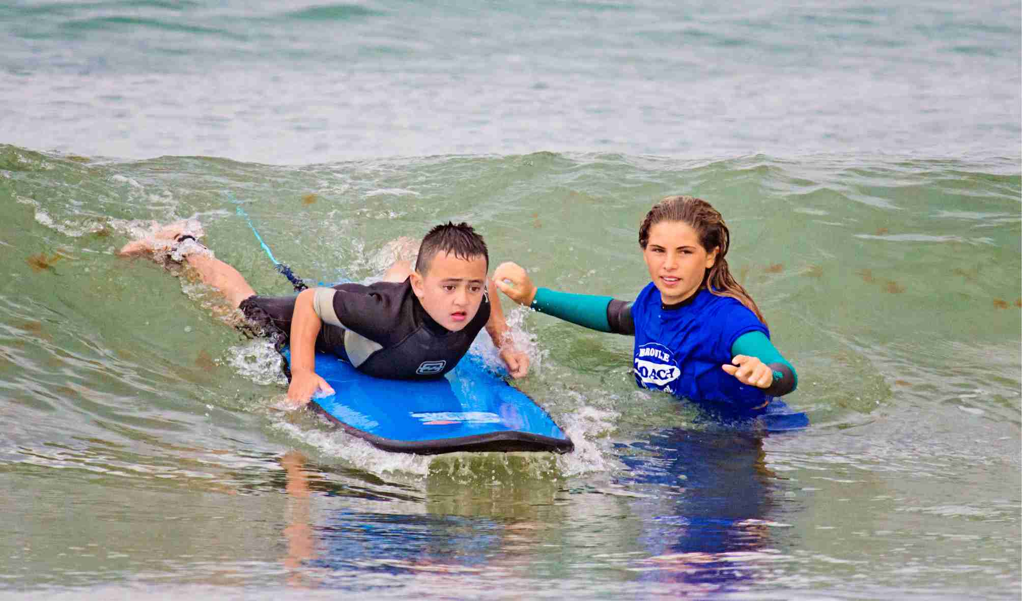 private surfing lessons for children