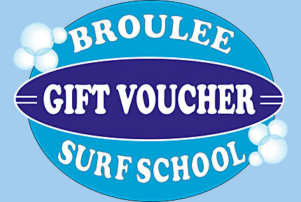 broulee surf school gift voucher