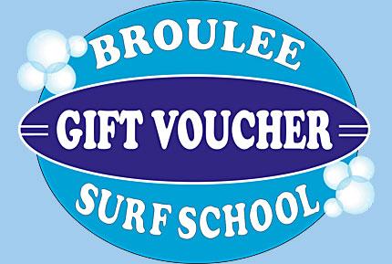 broulee surf school gift voucher