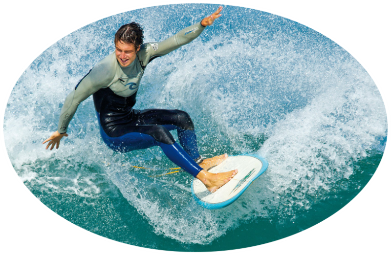 intermediate surfing lessons south coast nsw