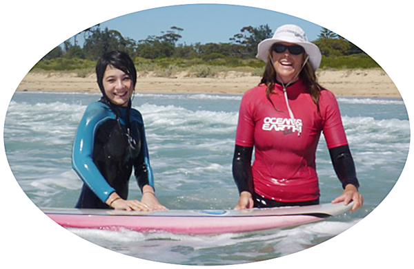 why not try a private surf lesson to improve your skills