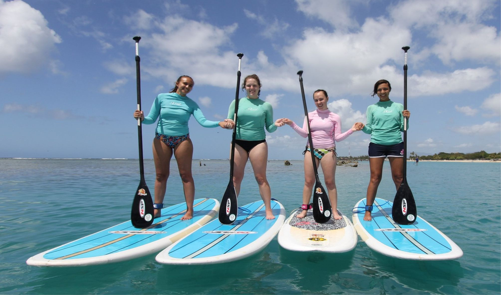 ladies sup lessons
