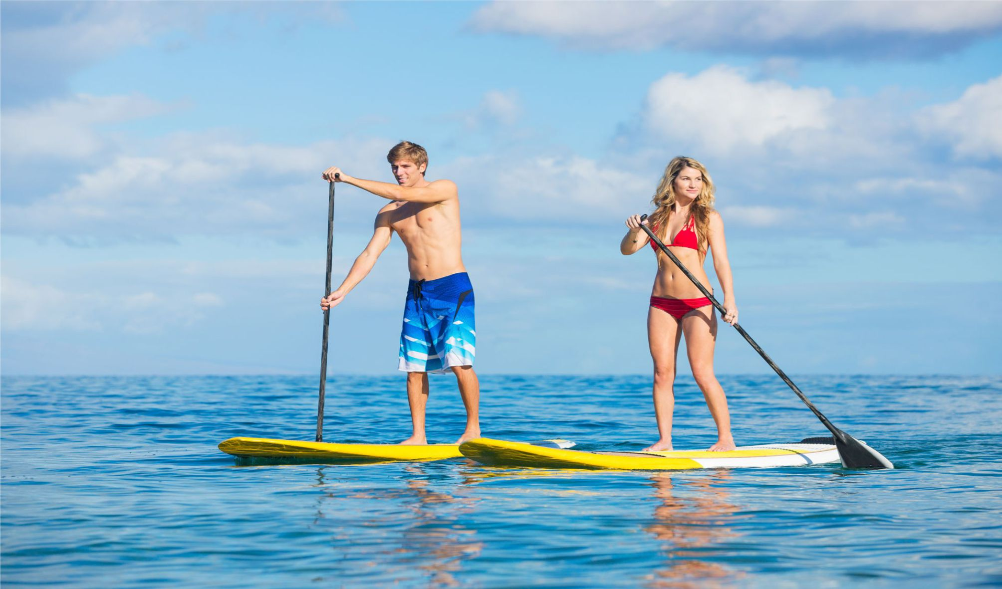 Stand Up Paddle in Summer