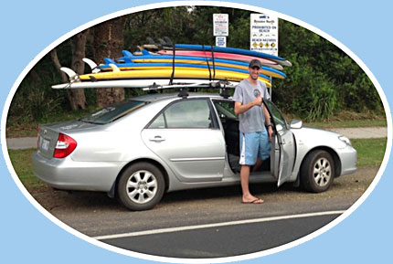 surf gear hire