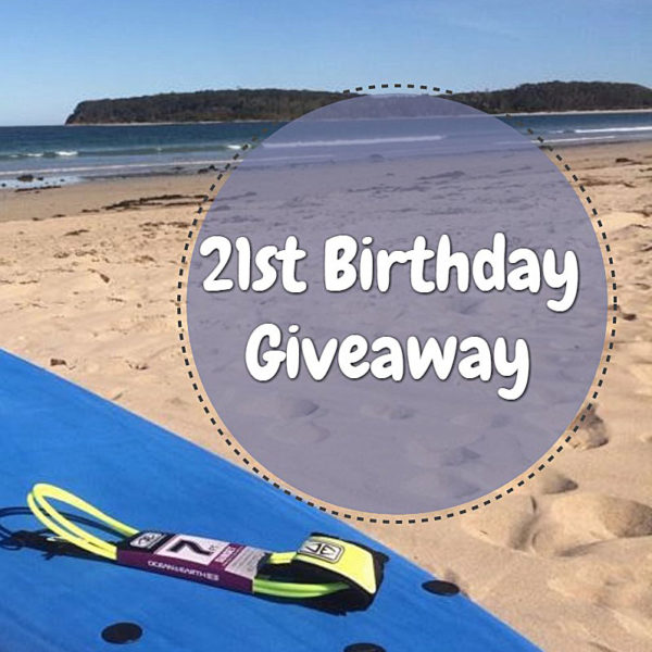 2st Birthday for Broulee surfschool-Giveaway