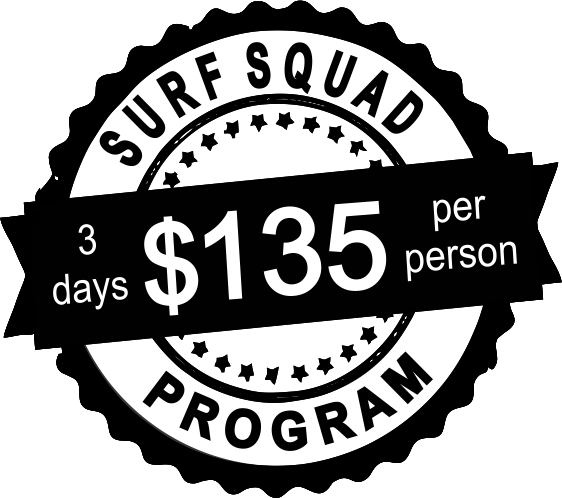 surf squad 3 days