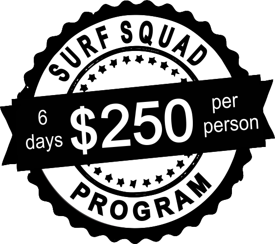 surf squad 6 days