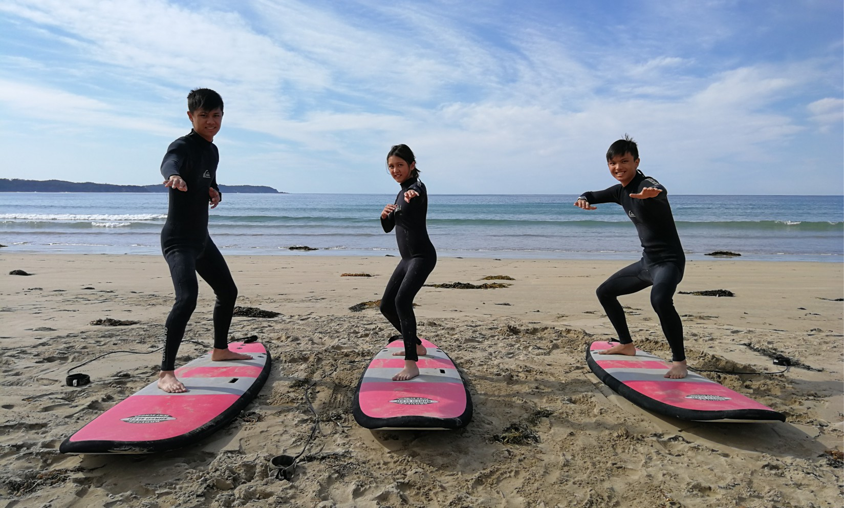 group surfing courses